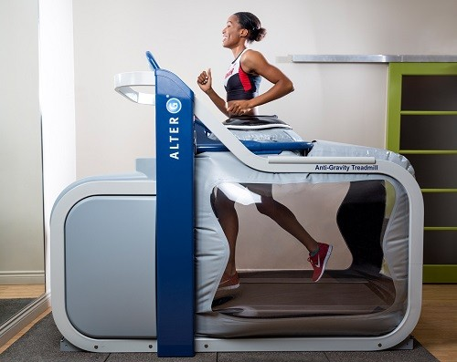 Anti-Gravity Treadmill Workout