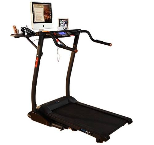 Exerpeutic 2000 WorkFit Desk Station Treadmill