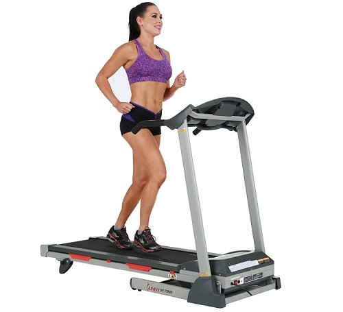 Sunny Health & Fitness SF-T7603 Electric Treadmill