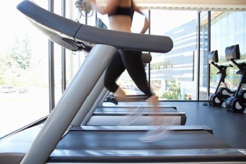 Sprinting on Treadmill