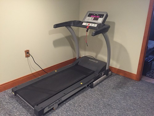 Used Treadmill in a room