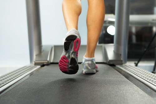 Walking Slowly on a Treadmill