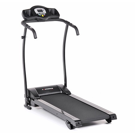 Confidence GTR Power Pro 1100W Motorized Electric Treadmill On White Surface