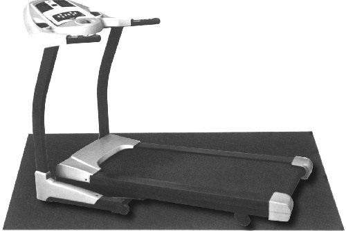 Gympak PVC Treadmill Equipment Mat (36-x78-Inch) Beneath Treadmill