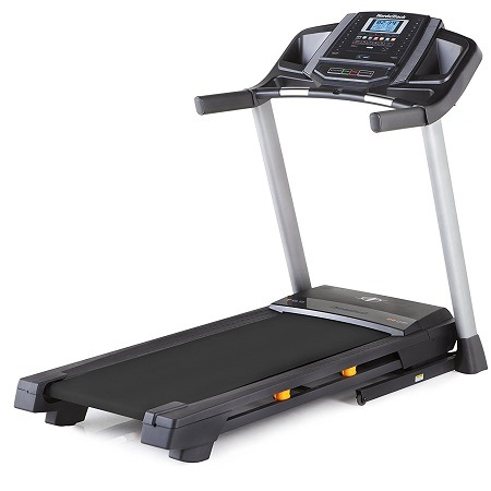 NordicTrack T 6.5 S Treadmill On White Surface