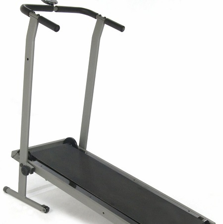 Stamina InMotion Manual Treadmill On White Surface