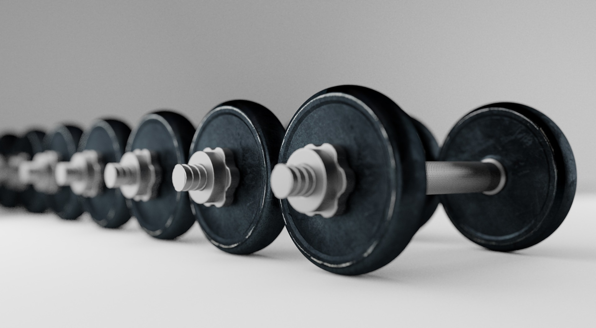 image of free weights